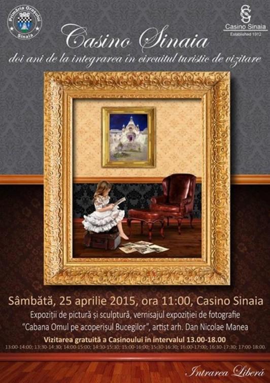 Casino Sinaia împlinește 2 ANI de la intrarea în circuitul de vizitare
