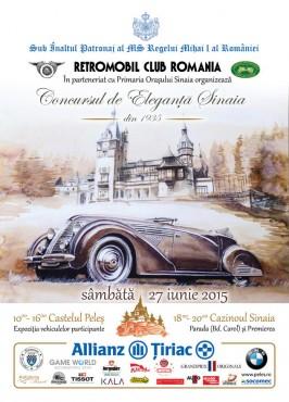 Concursul de Eleganță Auto Sinaia - Sâmbăta, 27 iunie 2015