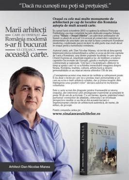 Arhitectul Dan Nicolae Manea