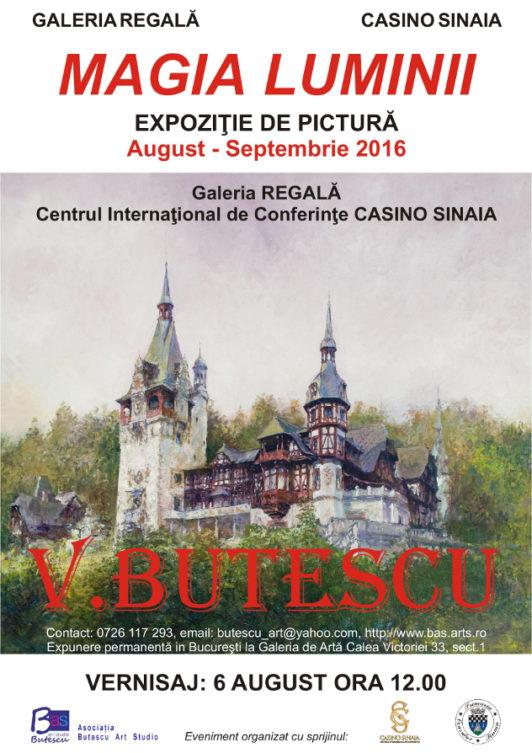 """""""Magia Luminii"""" - Expoziție de pictură sub semnătura artistului Vitalie Butescu"""